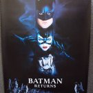 BATMAN Returns ORIGINAL ADVANCE Movie Poster TIM BURTON