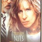BARBRA STREISAND Original  NUTS Poster RICHARD DREYFUSS