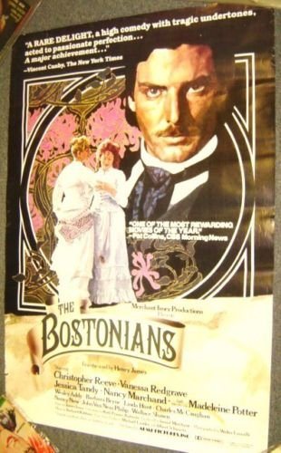 CHRISTOPHER REEVE  The BOSTONIANS Original  POSTER 1984