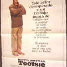TOOTSIE Original SPANISH 1-Sheet POSTER DUSTIN HOFFMAN