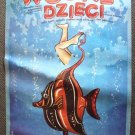 JAMES MASON The WATER BABIES Animated POLISH Poster '78