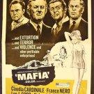 CLAUDIA CARDINALE Pressbook MAFIA Franco Nero LEE COBB