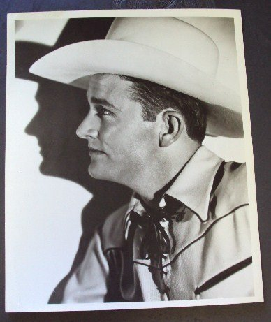 JIMMY WAKELY Country Western PHOTO Cowboy Stetson Sing!