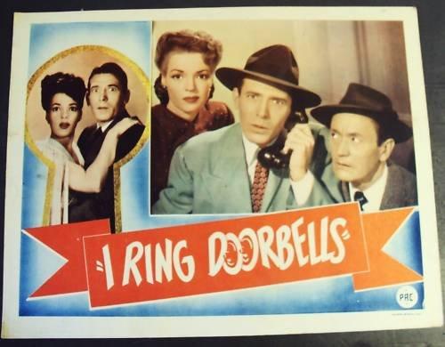 I RING DOORBELLS  Lobby Card  ANNE GWYNNE Robert Shayne