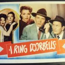 I RING DOORBELLS  Lobby Card  ANNE GWYNNE Robert Shayne