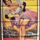 SOPHIA LOREN Original MADAME  Sans-Gêne 1-Sheet  POSTER