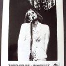BELINDA CARLISLE Original PROMO Runaway Live  PHOTO MCA