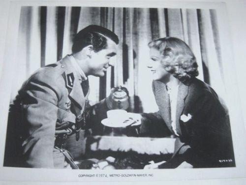 JEAN HARLOW Original SUZY Photo MGM  Cary Grant  M.G.M.