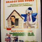 DEAN JONES The SHAGGY D.A. Drive-In POSTER Disney  DOG