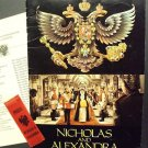 NICHOLAS and ALEXANDRA Program & Press  MICHAEL JAYSTON