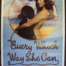 EVERY WHICH WAY SHE CAN Western SEXY Cowgirl POSTER '81
