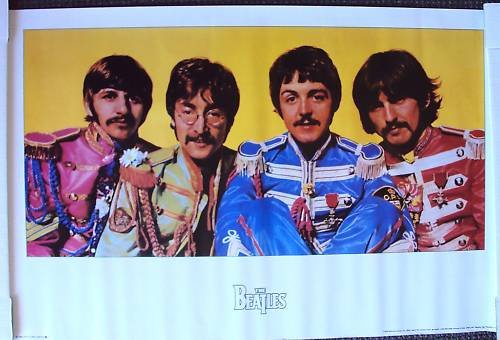 BEATLES   Sgt PEPPER'S LONLEY HEARTS Club Band   POSTER