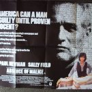 ABSENCE OF MALICE Quad POSTER Sally Field  PAUL NEWMAN