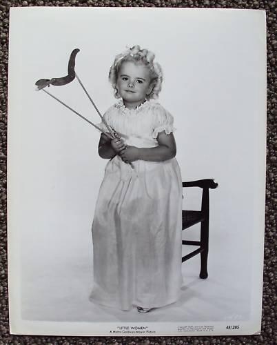 LITTLE WOMEN Original MGM Metro-Goldwyn Mayer PHOTO '49