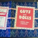 GUYS & DOLLS Broadway Theatre PROGRAM  Maxie Rosenbloom