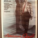 RICHARD GERE Original AMERICAN GIGOLO Movie Poster 1980