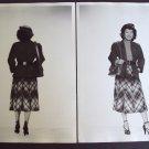 ASIAN Woman ORIGINAL Wardrobe FASHION Photo CHINESE 50s
