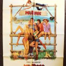 MEATBALLS Original 1-Sheet POSTER Camp '79 BILL MURRAY