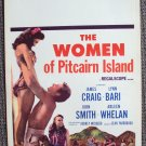 LYNN BARI The WOMEN OF PITCAIRN ISLAND Poster Exotic 56