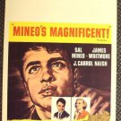 SAL MINEO Teenage Trash YOUNG DON'T CRY Original Window Card POSTER Bad Boy 1957