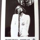 BELINDA CARLISLE Original PROMO Runaway Live  PHOTO MCA Go-Go's singer
