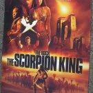 SCORPION KING The ROCK Mummy  BUS STOP  Light POSTER