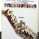 EARTHQUAKE Program CHARLTON HESTON Geneviève Bujold Ava Gardner Original 1974