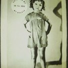 SHIRLEY TEMPLE  Original Promo POSTER Little Girl CHILD Vote for Me!