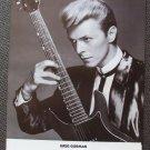 DAVID BOWIE Promo HOLLYWOOD Concert GREG GORMAN Poster 1986 Sunset Boulevard