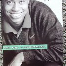 TIGER WOODS Original Promo AMERICAN EXPRESS Golf Champ POSTCARD GOLFING legend