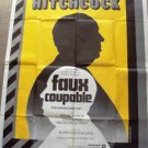 ALFRED HITCHCOCK The WRONG MAN Huge FRENCH Movie POSTER Henry Fonda VERA MILES