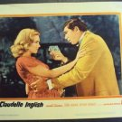 DIANE McBAINE Original '61 Lobby Card CLAUDELLE INGLISH