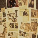 GIG YOUNG  Original CLIPPINGS Photo Images SCRAPBOOK 1950's-60s