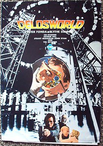 FUTUREWORLD JAPAN Photo Program PETER FONDA Blythe Danner JAPANESE Westworld