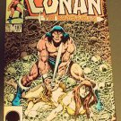 CONAN the BARBARIAN Marvel COMIC BOOK 1986 ADVENTURER 25th Anniversary