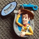 TOY STORY Cowboy WOODY Treasure Keeper keychain COIN HOLDER Disney Pixar MINT