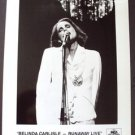 BELINDA CARLISLE Original PROMO Runaway Live  PHOTO MCA Go-Go's Lead Singer