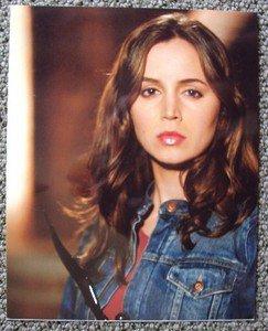 ELIZA DUSHKU Buffy the Vampire Slayer Color PHOTO Faith Joss Whedon