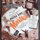 MARIKA Original PRESSBOOK Marika Rökk VIENNA STATE BALLET Rokk MUSICAL Boris