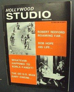 KORLA PANDIT Hollywood Studio Magazine 1969 Bob Hope ROBERT REDFORD Gary Owens