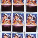 MEL BROOKS Original SILENT MOVIE  Sheet of 18  Glue STAMPS Mint 1976