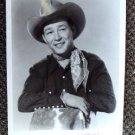 ROY ROGERS Western COWBOY ReIssue PHOTO Trigger HORSE  Stetson Headshot Portrati