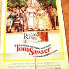 TOM SAWYER Johnny Whitaker JODIE FOSTER Celeste Holm   Original  Musical POSTER