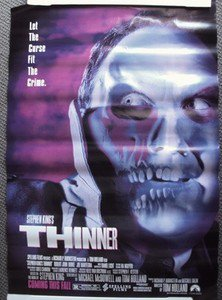 THINNER  Stephen King  HORROR Gore  POSTER Joe Mantegna