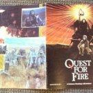 QUEST FOR FIRE Souvenir PROGRAM Photograph images by  ERNST HAAS