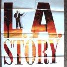 L.A. STORY Original 1-Sheet MOVIE Poster STEVE MARTIN Los Angeles LA