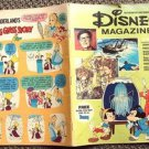 DISNEY Magazine GROUCHO MARX Pinocchio UNCLE SCROOGE Mickey Mouse Sleuth Comic