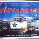 NIGHT PATROL Original POLICE Poster LINDA BLAIR Farce!!