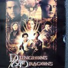 DUNGEONS and DRAGONS Original Movie  Poster THORA BIRCH Justin Whalin