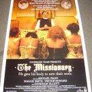 MONTY PYTHON The MISSIONARY Original 1-Sheet Rolled Movie POSTER Michael Palin